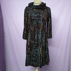 Alyx 3/4 Sleeve  Chunky Collar Dress
